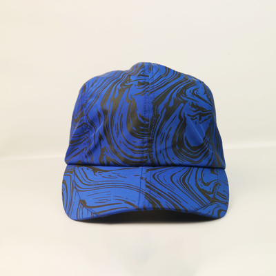 OEM/ODM sublimation pattern Breathable 100% polyester Running Hats Dry Fit Sport golf caps